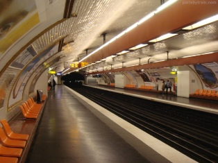 Place Monge Line 8 Metro Station